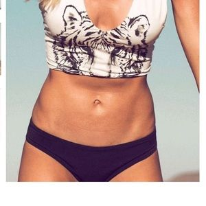 White tiger bathing suit